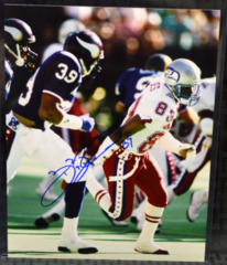 Brian Blades Seattle Seahawks Signed Pro Bowl Color 8x10 Photo