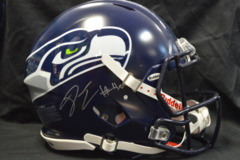 Derrick Coleman Seahawks Autographed Starter Team Authentic Speed Full Sized Helmet