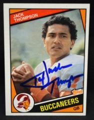 Jack Thompson Autographed 1984 Topps