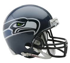 Seattle Seahawks Full Size Replica Helmet 2002 - 2011 Unsigned