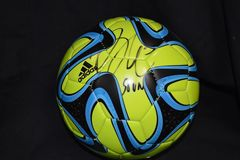 Brad Evans Seattle Sounders Signed Soccer Ball