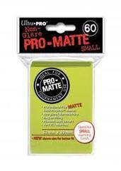Ultra Pro PRO-Matte Small Sleeves - Bright Yellow (60ct)