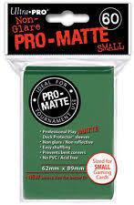 Ultra Pro Pro-Matte Small Sleeves - Green (60ct)