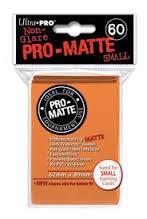 Ultra Pro Pro-Matte Small Sleeves - Orange (60ct)