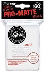 Ultra Pro Pro-Matte Small Sleeves - White (60ct)
