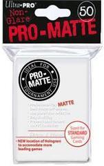 Ultra Pro PRO-Matte Standard Sleeves - White (50ct)