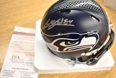 Cooper Helfet Seahawks Autographed Mini Helmet