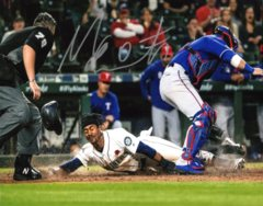Mallex Smith Seattle Mariners Signed 8x10 Photo B Stealing Home