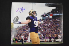Will Dissly Signed UW Huskies 8x10 Photo #4 JSA