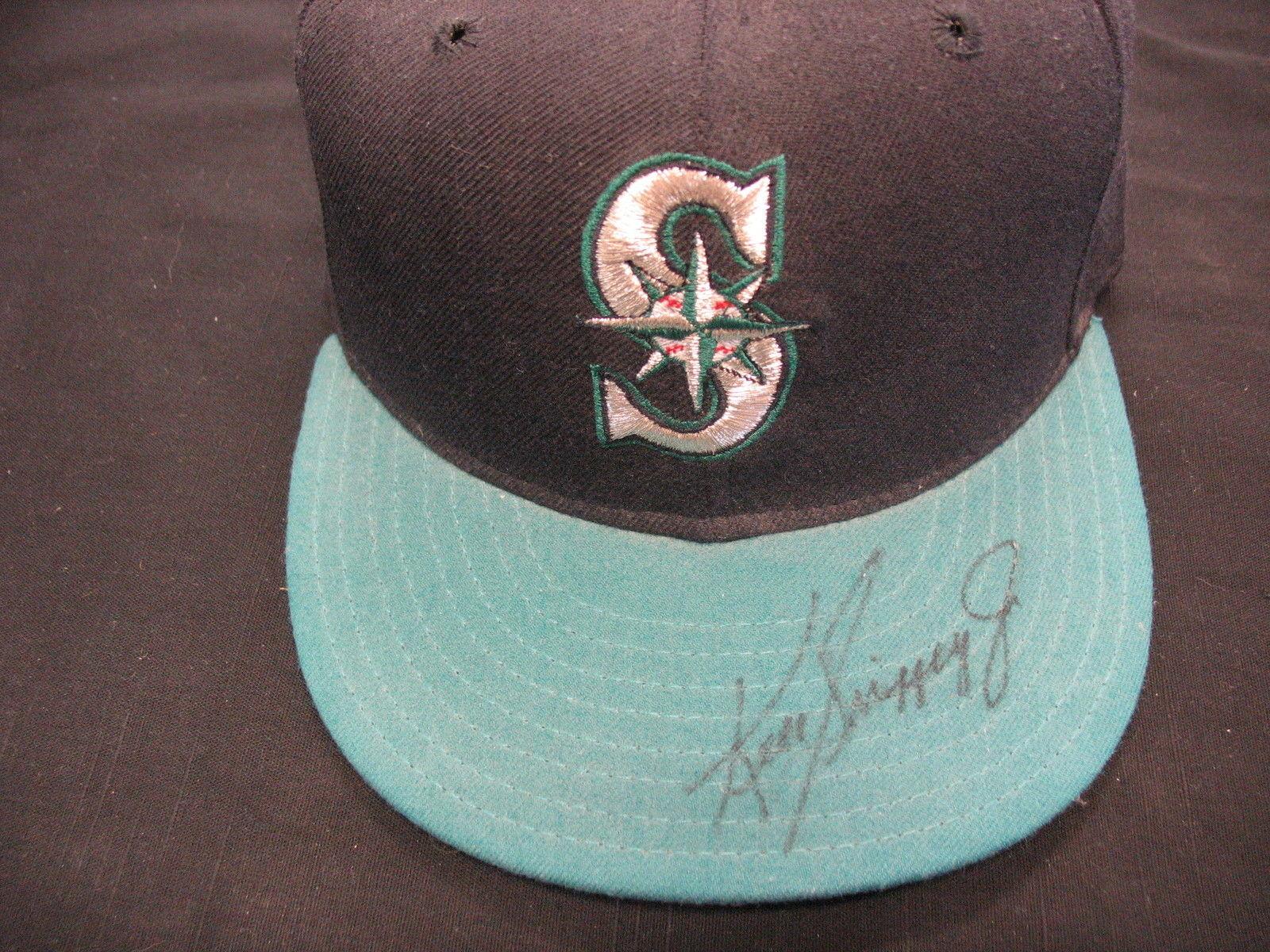 Ken Griffey Jr. Signed Mariners Hat w/COA