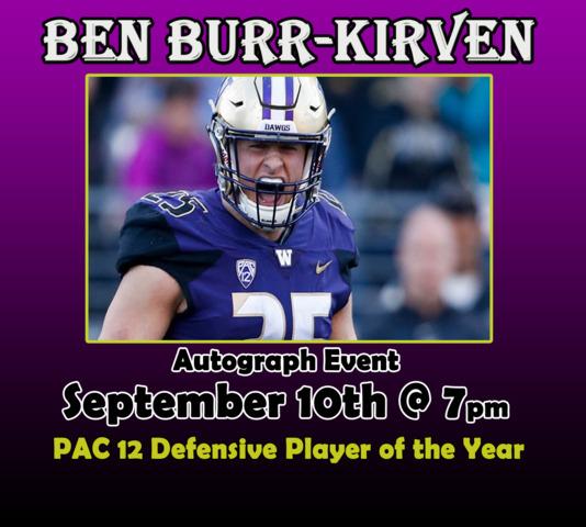 check out f5f66 798c3 Northwest Sportscards - Ben Burr-Kirven Autograph Ticket 9 ...
