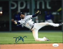 Dee Gordon Seattle Mariners Signed 8x10 Photo C JSA/COA