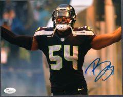 Bobby Wagner Seahawks Autographed 8x10 Photo JSA #3