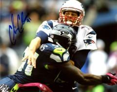 Chris Clemons Seahawks 8x10 Autographed Photo #3