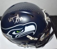 Will Dissly Signed Seahawks Mini Helmet JSA