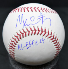 Mallex Smith Signed MLB Baseball
