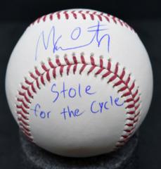 Mallex Smtih Signed MLB Baseball