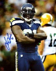 Chris Clemons Seahawks 8x10 Autographed Photo #2