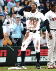 Mallex Smith Seattle Mariners Signed 8x10 Photo D Call Me