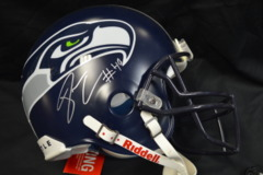 Derrick Coleman Seahawks Autographed Starter Team Authentic Full Sized Helmet
