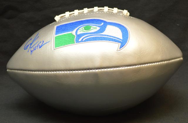 Cortez Kennedy Seahawks Signed Retro Ltd Edition Football w/ HOF Inscription