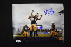 Will Dissly Signed UW Huskies 8x10 Photo #3 JSA