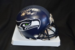 DeShawn Shead Seahawks Autographed Mini Helmet