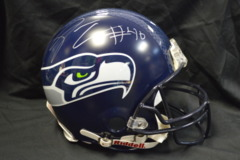 Derrick Coleman Seahawks Autographed Authentic Full Sized Helmet