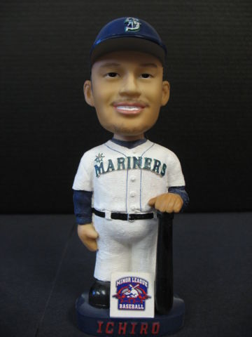 ICHIRO Minor League Baseball Bobblehead Rare BH 0025