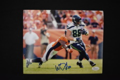 Will Dissly Signed Seahawks 8x10 Photo #1 JSA