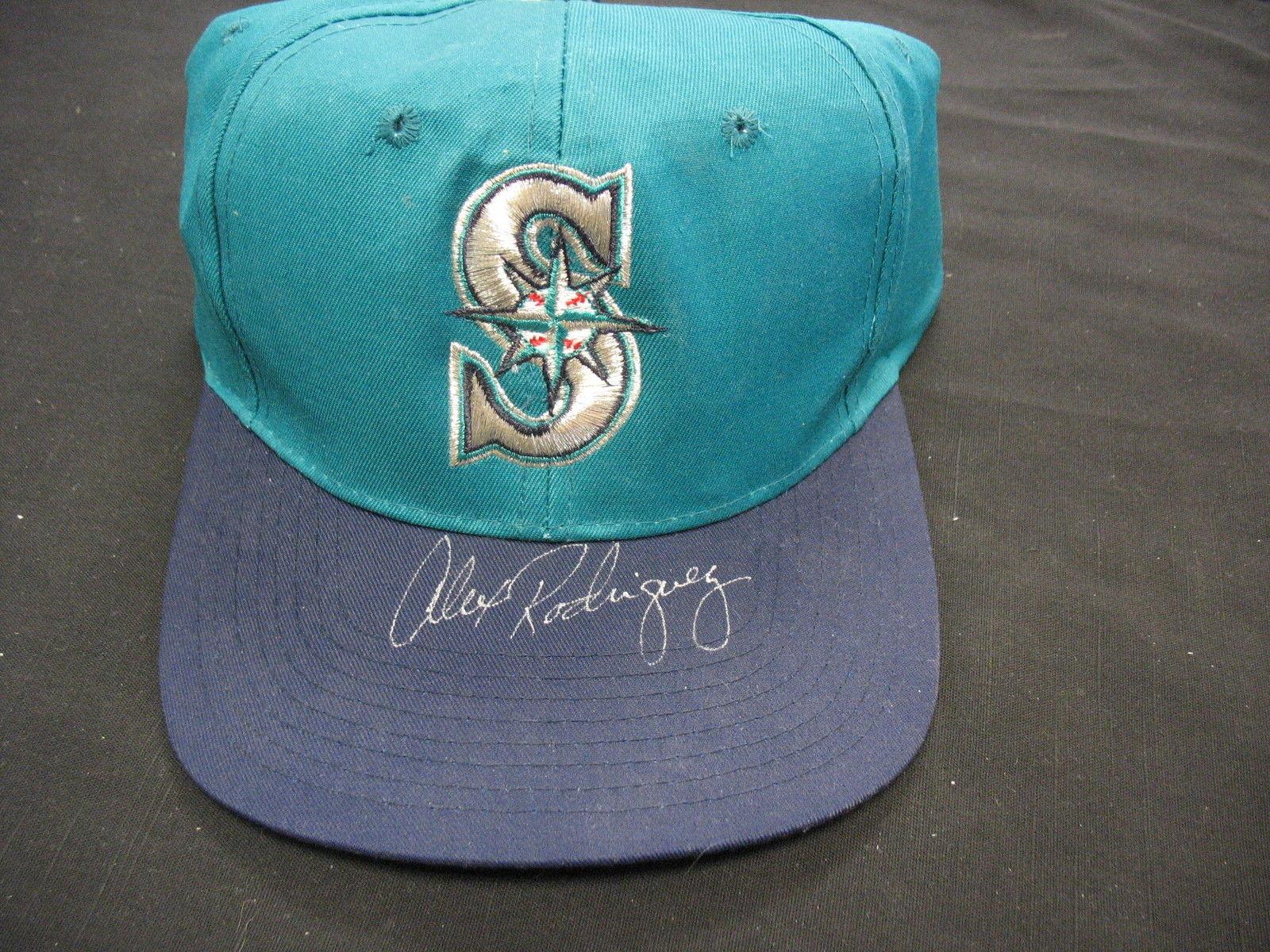Alex Rodriguez Signed Mariners Hat w/COA