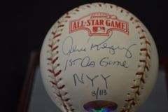 Alex Rodriguez Signed Auto Autographed Baseball 1st All Star Game w/ COA BB 283