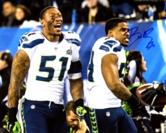Bobby Wagner Seahawks Autographed 8x10 J