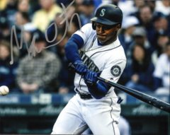Mallex Smith Seattle Mariners Signed 8x10 Photo A Hitting
