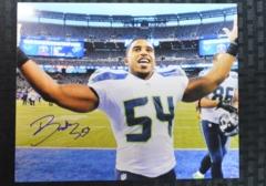 Bobby Wagner Seahawks Autographed 8x10 Photo E