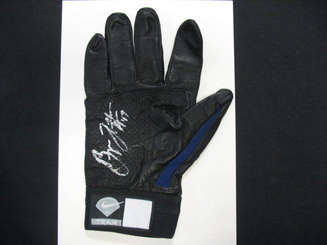 Bryan LaHair Signed Nike Batting Glove
