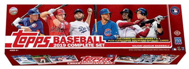 Northwest Sportscards 2019 Topps Baseball Factory Set Pre Order