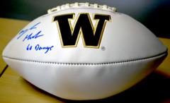 Myles Gaskin Signed UW Logo  Football w/JSA COA