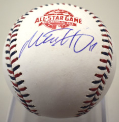 Mitch Haniger Autographed All-Star Baseball JSA/COA