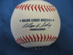 CARLOS GUILLEN Mariners Ball Autographed Signed BB 342