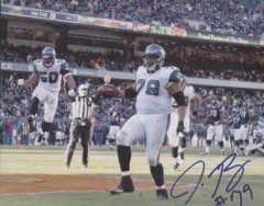 Red Bryant Seahawks Autographed 8x10 Photo #5