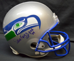 /12 Seahawks ROH Signed Helmet JSA