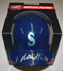Mitch Haniger Autographed Mini Batting Helmet JSA