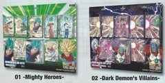 DBS Mighty Heroes & Dark Demon's Villians Expansion Box Bundle