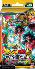 DBS Starter Deck 5 The CRIMSON SAIYAN