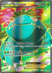 Venusaur-EX - 141/146 - Full Art