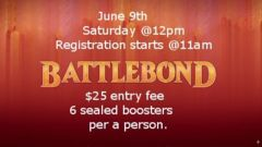 MTG Battlebond Release Tournament 6/9/18