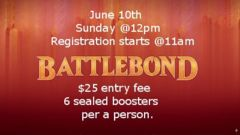 MTG Battlebond Release Tournament 6/10/18