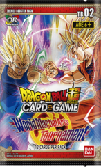 DBS Themed Booster 2 The World Martial Arts Tournament Booster Packs