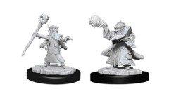 D&D Unpainted Minis - Gnome Male Wizard